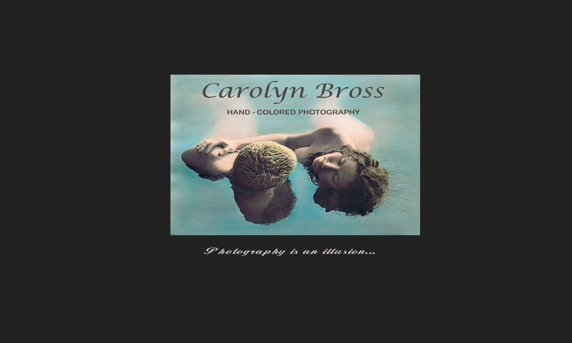 Carolyn Bross Hand-Colored Photography